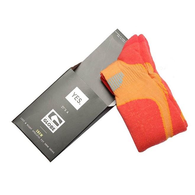 ponožky GLOBE - Yes/Globe Park Rat Sock  Orange (ORANGE)