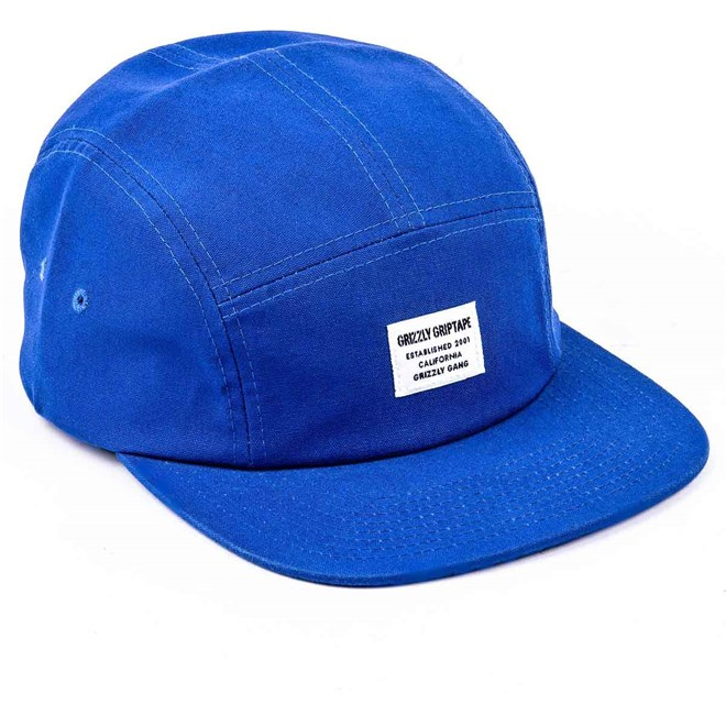 kšiltovka GRIZZLY - CERTIFIED CAMP HAT Blue (BLUE)