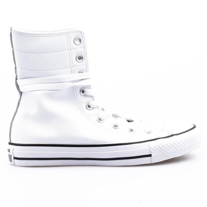 boty CONVERSE - CT AS Hi-Rise Seasonal White/Black/White (WHITE/BLACK/WHITE)