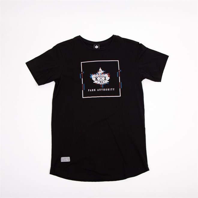 triko K1X - Glitch Logo Long Black/Black (0002)