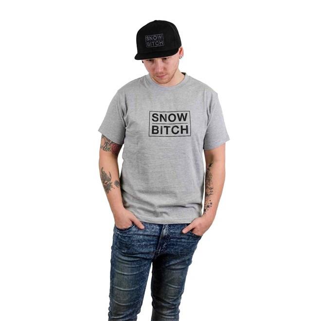 triko SNOWBITCH - O.G. Logo Gray Gray (GRAY)