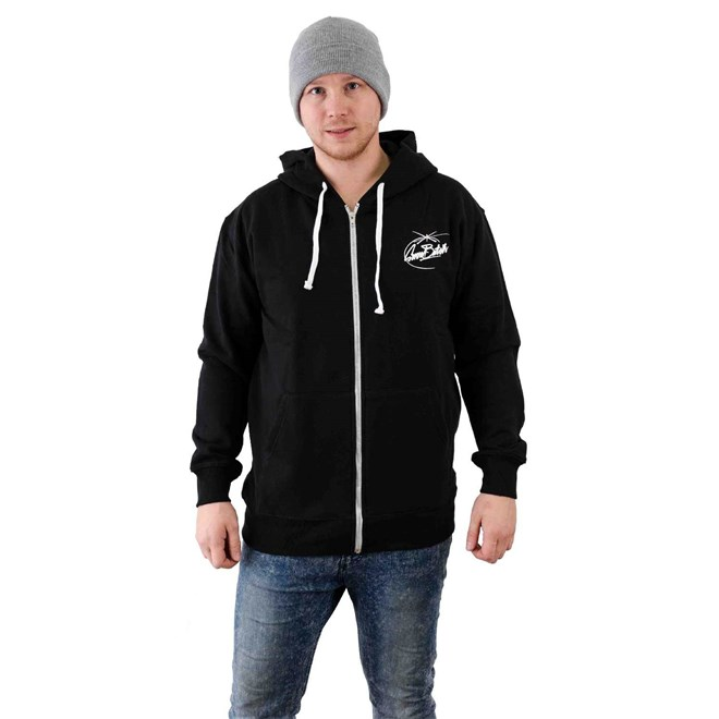 mikina SNOWBITCH - Tag Holy Zip-Hoody Black (BLACK)