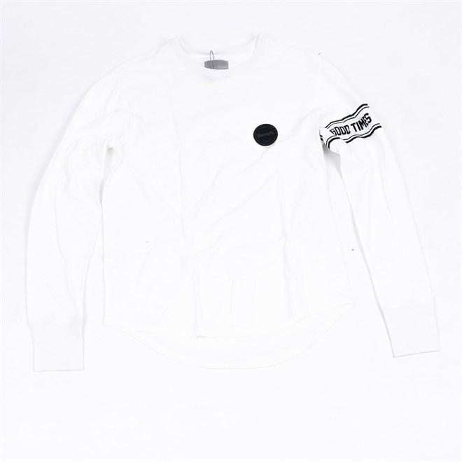 triko BENCH - Ls Tee Bright White (WH11185)