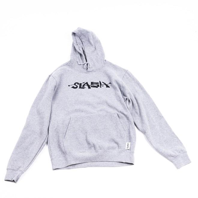 mikina SLASH - Straight Hoody Grey (GREY)