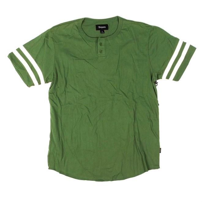 košile BRIXTON - Fairfield Henley Kelly Green (KLGRN)