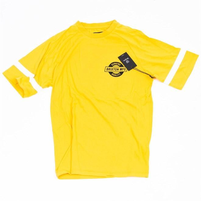 triko BRIXTON - Newell Yellow (YELLW)