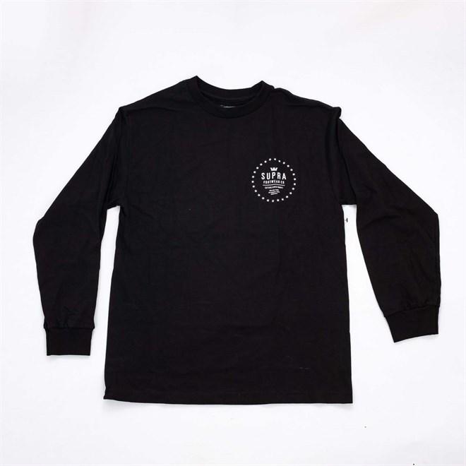 triko SUPRA - Star Seal Black (001)