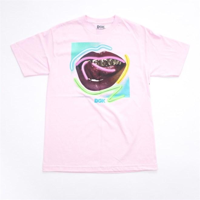 triko DGK - Neon Tee Pink (PINK)