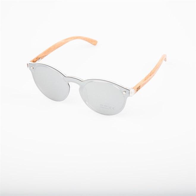 sluneční brýle SNOWBITCH - smoke one-piece lens natural bamboo (SMOKE)