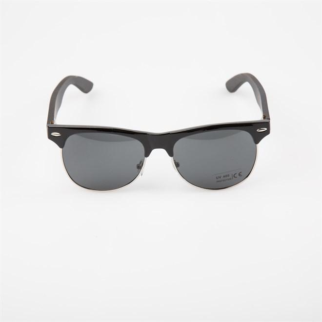 sluneční brýle SNOWBITCH - black frame and smoke lens ebony wooden (BLACK)
