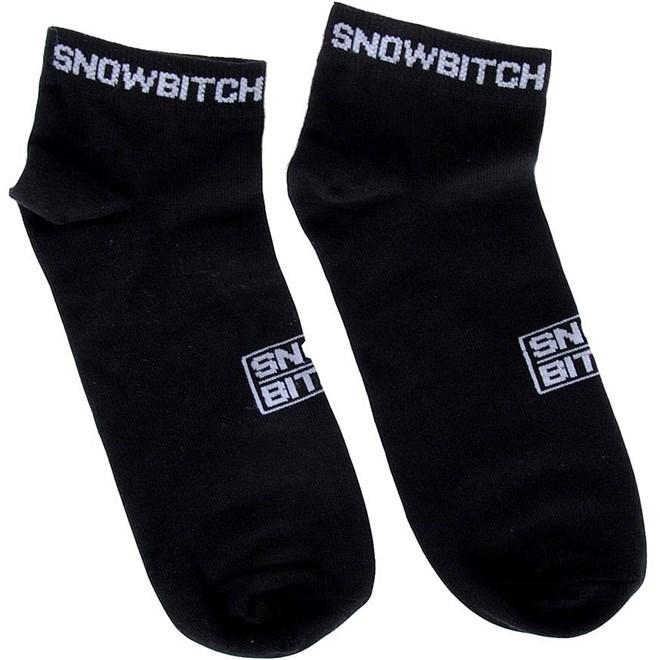ponožky SNOWBITCH - Snowbitch Socks Ankle Black (BLACK)