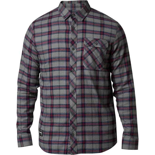 košile FOX - Boedi Ls Flannel Petrol (052)