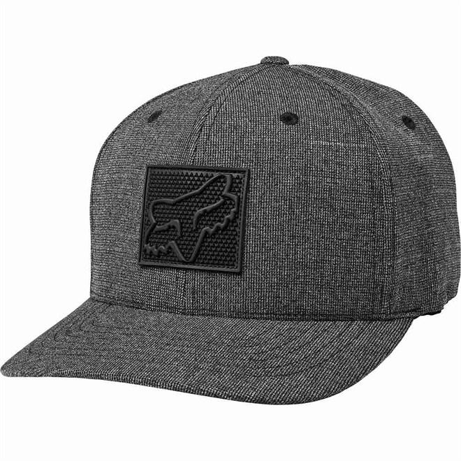 kšiltovka FOX - Completely Flexfit Hat Heather Black (243)