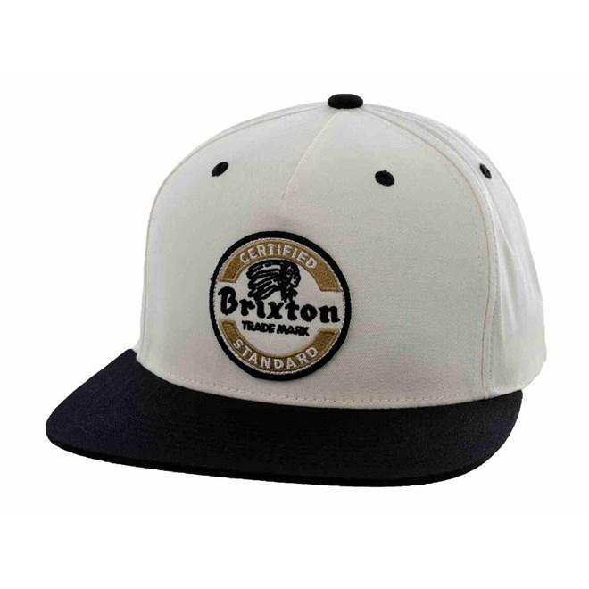 kšiltovka BRIXTON - Soto White/Black (0203)