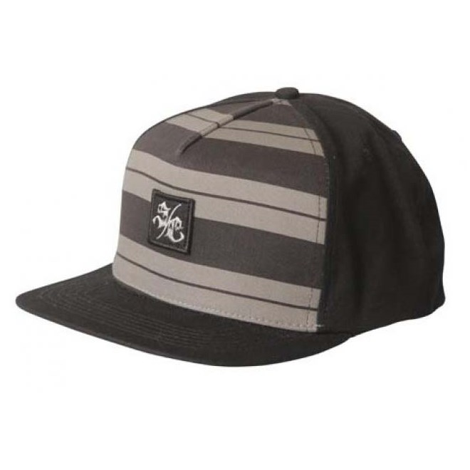 kšiltovka SANTA CRUZ - Charlie Brown Snap Back Black/Grey (BLACK GREY)