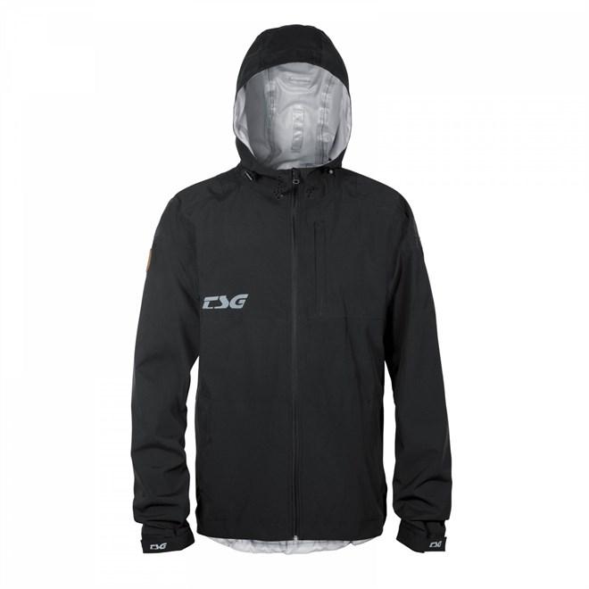 chrániče TSG - Drop Rain Jacket Black (102)