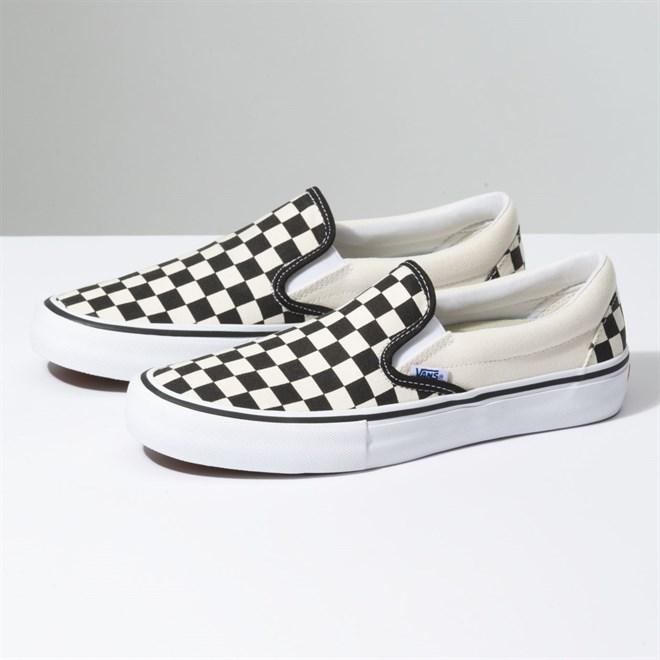 c01412253b topánky VANS - Slip-On Pro (Chckrbrd)Black White (APK)