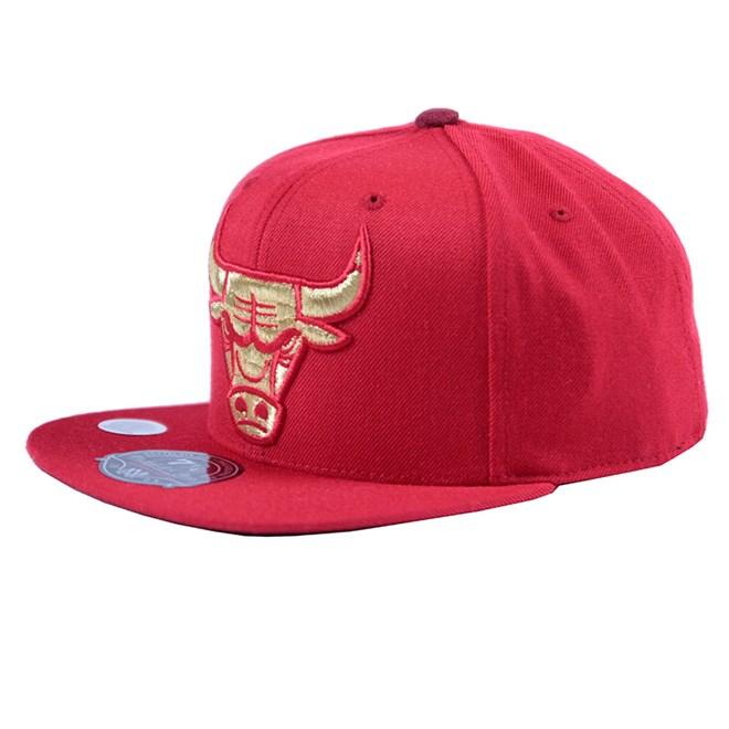 kšiltovka MITCHELL & NESS - Bulls Fitted (BULLS)