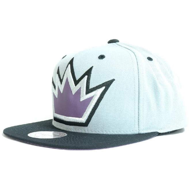 kšiltovka MITCHELL & NESS - The Fade 2 Tone Leather Los Angeles Kings (KINGS)