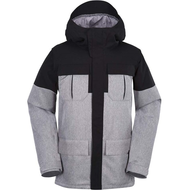 bunda VOLCOM - Alternate Ins Jkt Heather Grey (HGR)