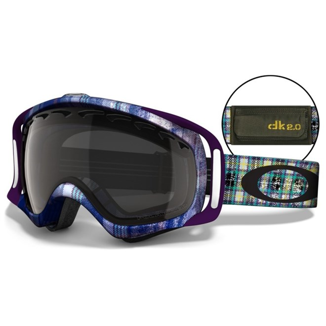 snb brýle OAKLEY - Danny Kass Signature Series Crowbar Grunge/Grey Polarized (GRUNGE GREY POLARIZE)