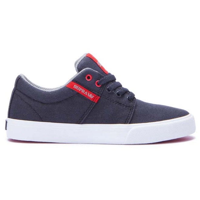 boty SUPRA - Stacks Vulc Ii Black/Red-White (030)