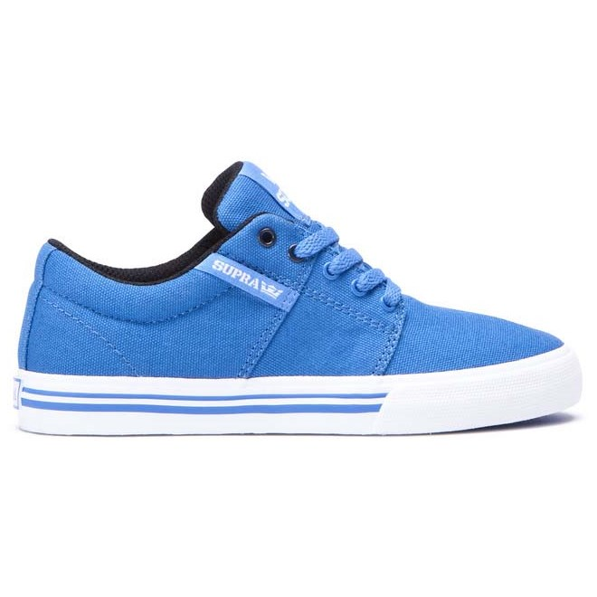 boty SUPRA - Stacks Vulc Ii Blue-White (419)