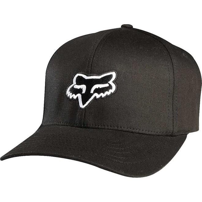 czapka z daszkiem FOX - Legacy Flexfit Hat Black (001)