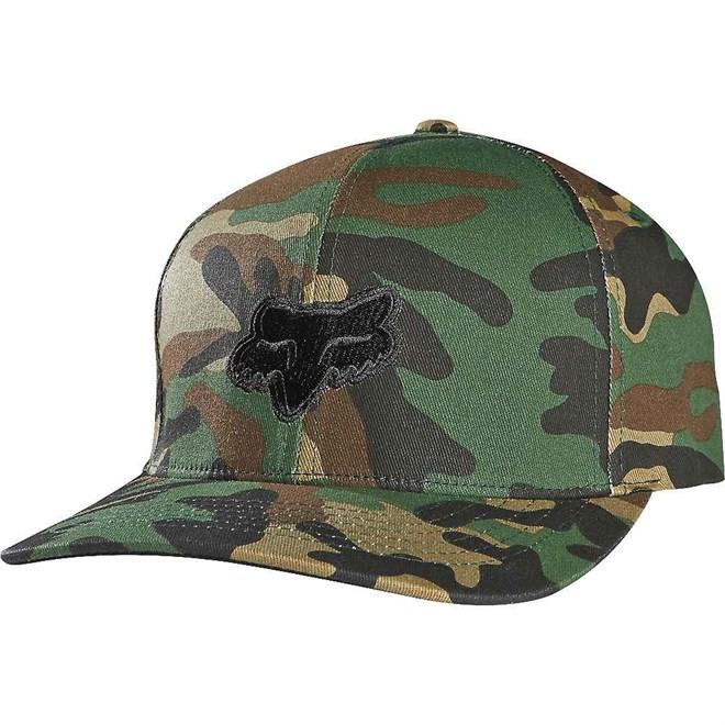 kšiltovka FOX - Legacy Flexfit Hat Cam (027)