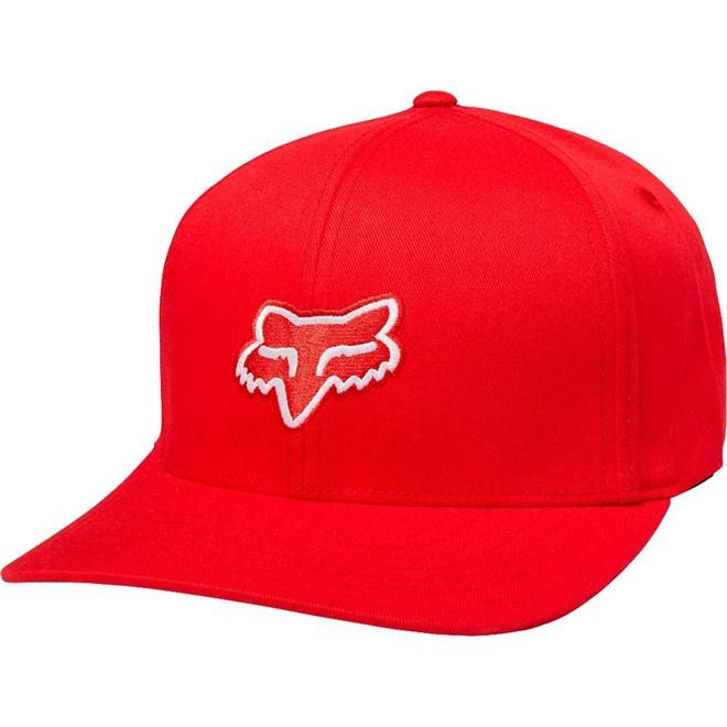 kšiltovka FOX - Legacy Flexfit Hat Dark Red (208)