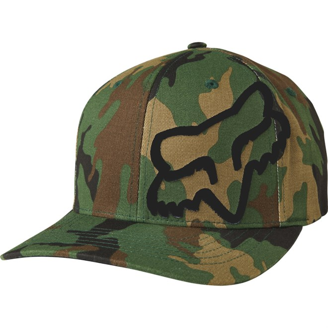 kšiltovka FOX - Flex 45 Flexfit Hat Camo (027) velikost  S M ... 2c519d6204