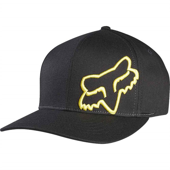 kšiltovka FOX - Flex 45 Black/Yellow (019)