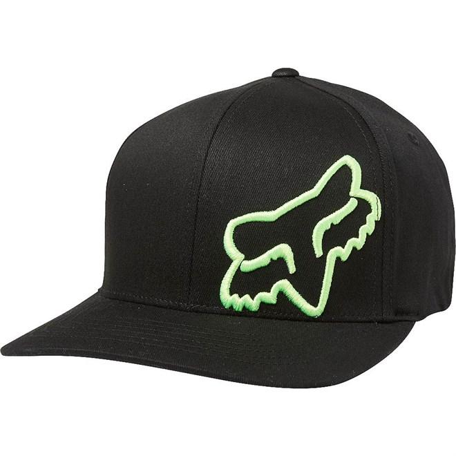 kšiltovka FOX - Flex45 Black/Green (151)