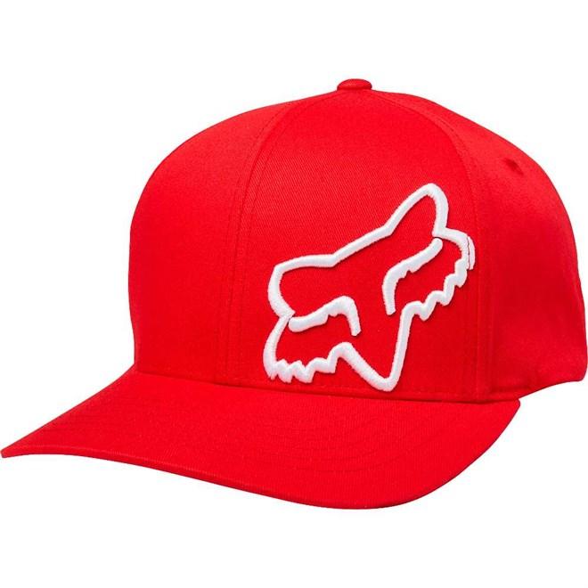 c211efda986 kšiltovka FOX - Flex 45 Flexfit Hat Dark Red (208) velikost  S M ...