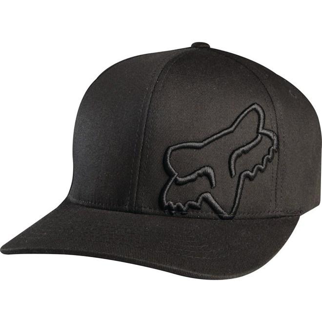 czapka z daszkiem FOX - Flex 45 Flexfit Hat Black (001)