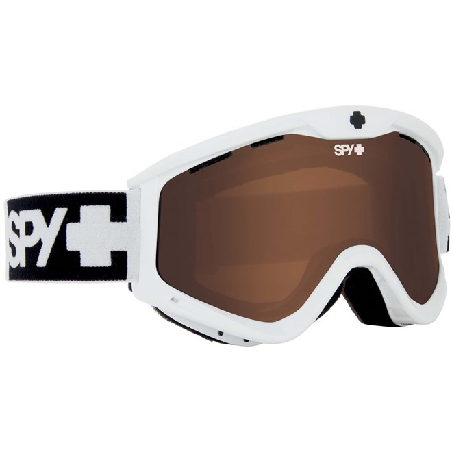 gogle snowboardowe SPY - T3 Whte Bro (BRO)