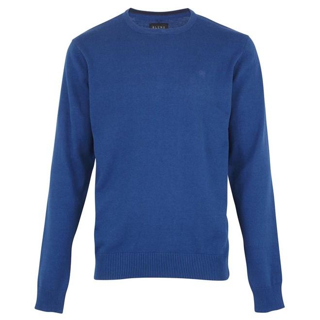 svetr BLEND - Knit Pullover Navy (70230)