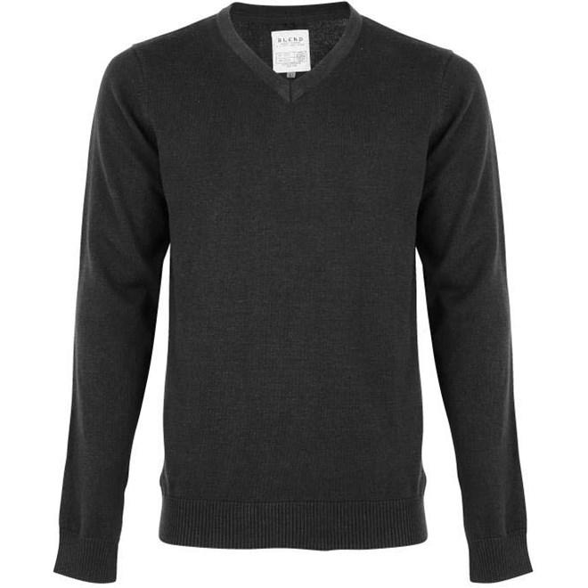 svetr BLEND - Pullover Charcoal (70818)