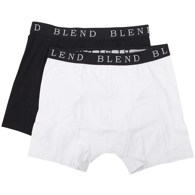 trenky BLEND - Underwear Black/White (70999)