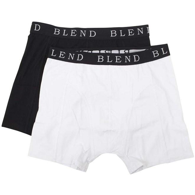 trenky BLEND - Underwear Black/White (70999)