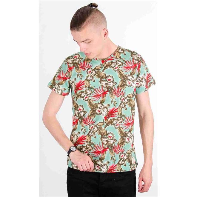 triko BLEND - T-Shirt Agate Green (77178)
