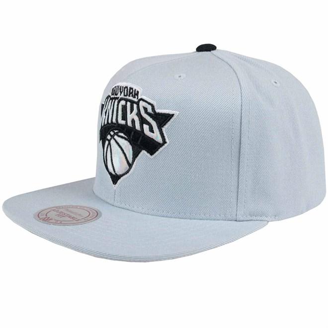 kšiltovka MITCHELL & NESS - Slate Grey Knicks (KNICKS)