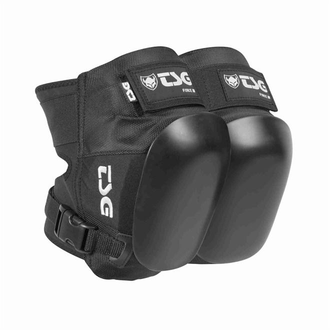 chrániče TSG - kneepad force III black (102)