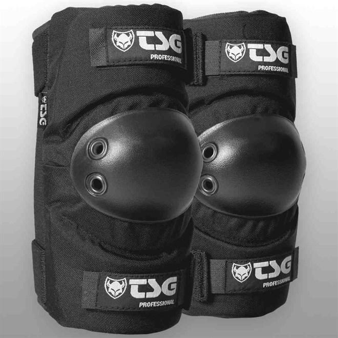 chrániče kolen TSG - elbowpad professional black (102)