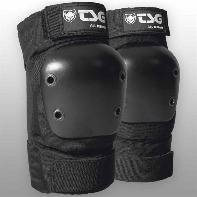 chrániče kolen TSG - elbowpad all terrain black (102)