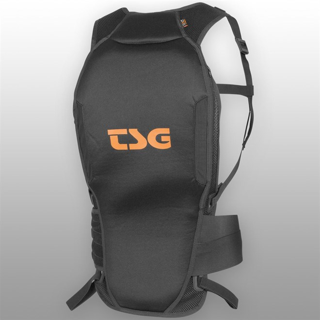 chránič TSG - Backbone Tank D3O Black Orange (114)