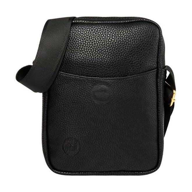 taška přes rameno MI-PAC - Flight Bag Tumbled Black (001)