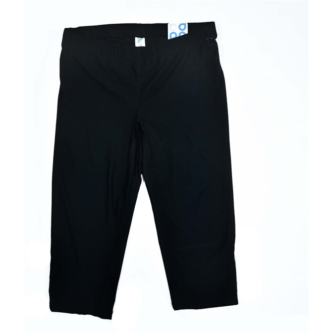 kalhoty FTLK - Core Run Capri (BLK)
