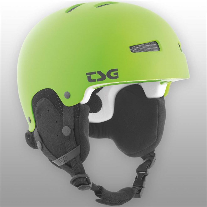 snb helma TSG - gravity youth solid color satin lime green (170)