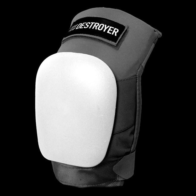 chránič DESTROYER - Pro Knee Grey/White (GRW)